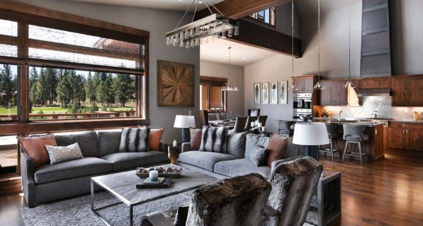 Warm Relaxing Mountain Contemporary Home Truckee