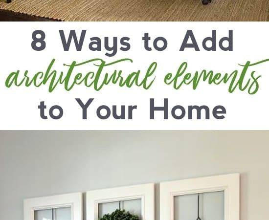 Ways Add Architectural Elements Your Home