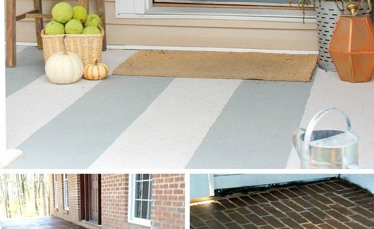 Ways Add Character Concrete Porch Everything