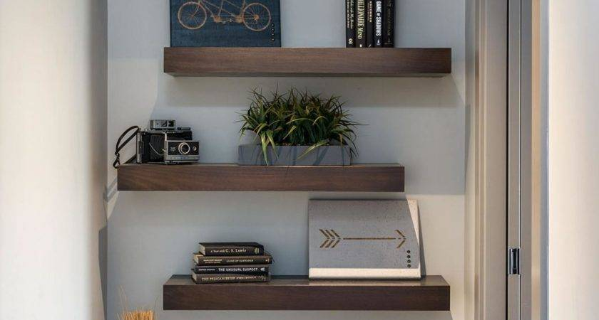 Ways Decorate Floating Shelves Hgtv