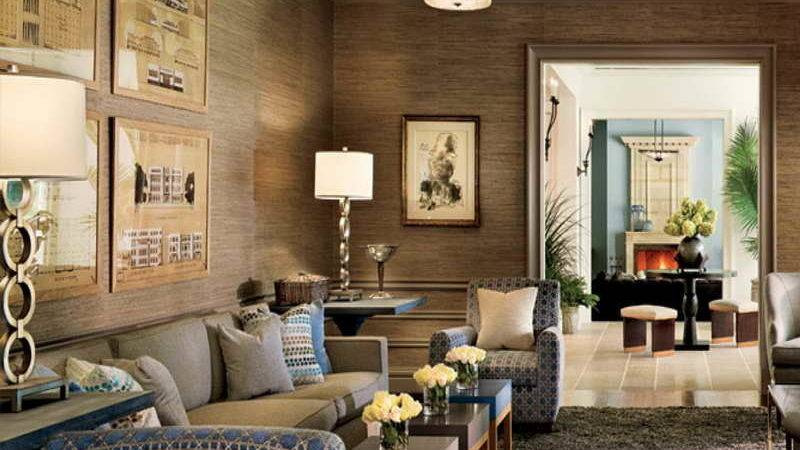 Ways Decorate Your Living Room Home Round