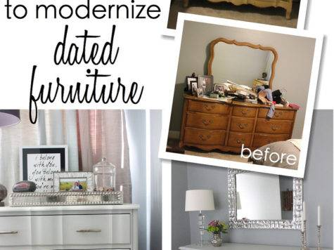 Ways Modernize Dated Furniture Homes Have Made