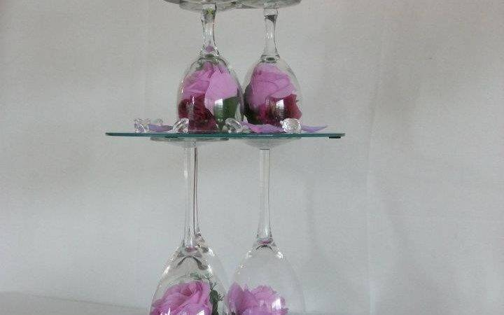 Wedding Centerpieces Mirrors Candles
