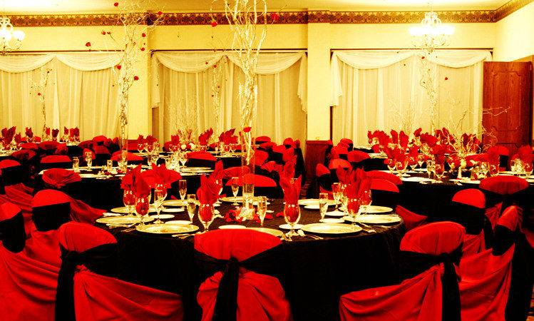 Wedding Collections Red Decorations