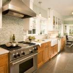 West Tabor House Contemporary Kitchen Portland