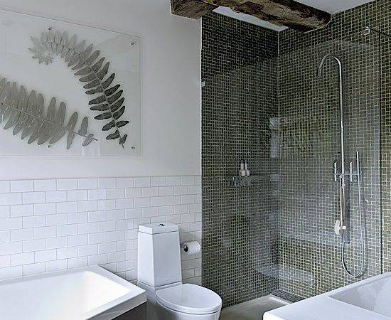 White Bathroom Designs Tiles