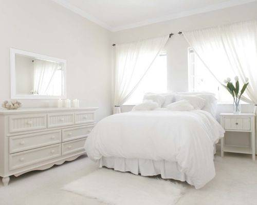White Bedroom Home Design Ideas Remodel Decor