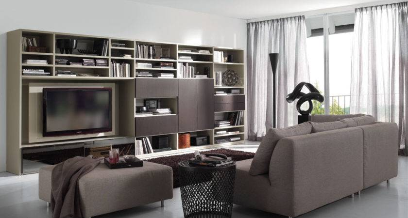 White Brown Living Room Stylehomes