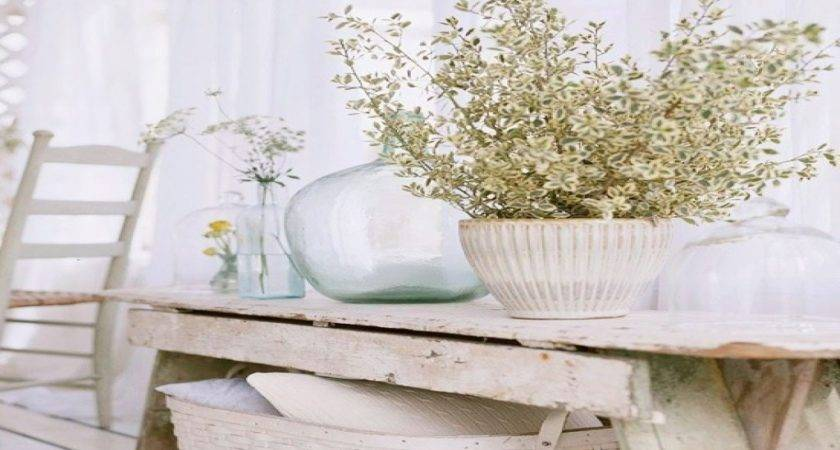 White Chic Furniture Shabby Country Decor French