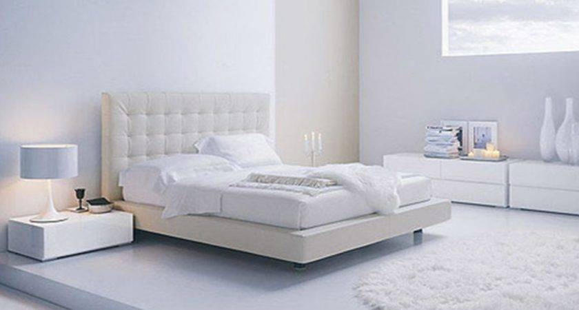 White Contemporary Bedroom Modern Furniture
