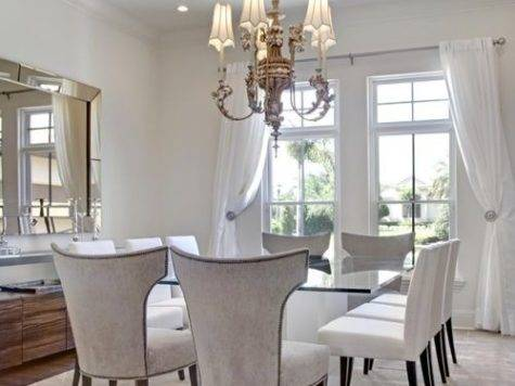 White Dining Room Home Design Ideas Remodel