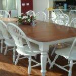 White Dining Table Ideas Refinish Room Top