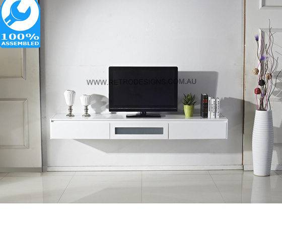 White Expressia Wall Mounted Cabinet