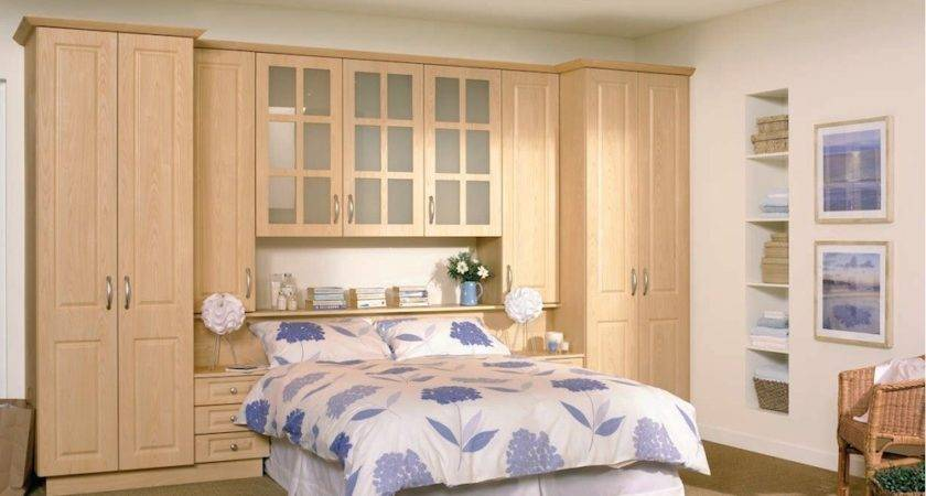 White Fitted Bedroom Furniture Modern High Gloss