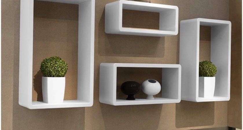 White Floating Shelf Ikea Corner