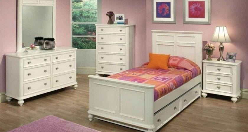 White Girls Bedroom Furniture Collections Design