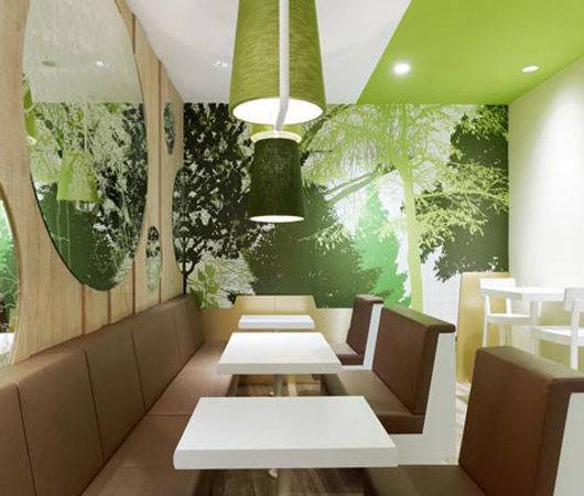 White Green Interior Design Ideas