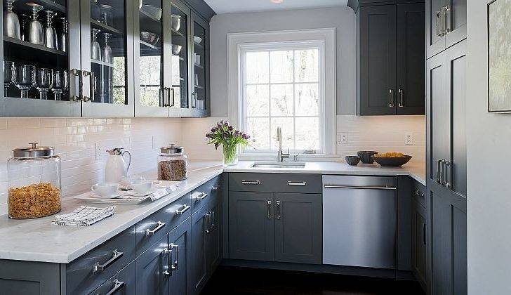 White Grey Kitchen Ideas Home Decoration Plan