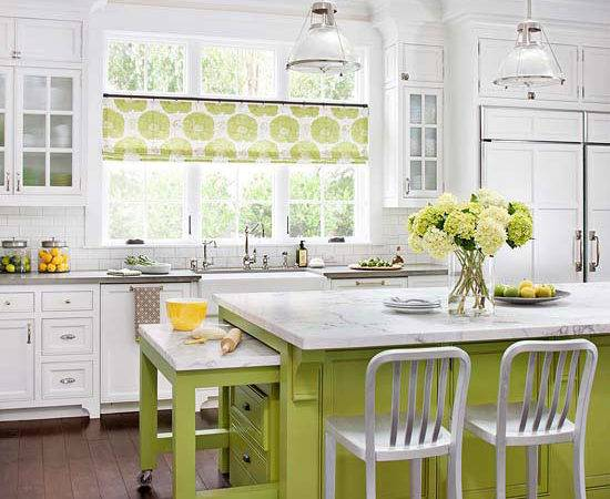 White Kitchen Decorating Ideas Bhg Furniture