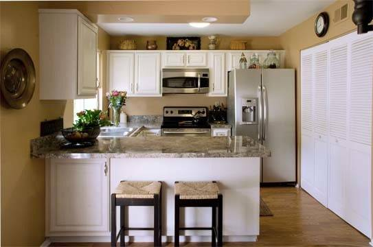 White Kitchens Ways Make Cabinets Work