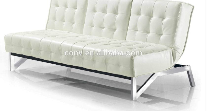 White Leather Living Room Sofa Bed Kws Buy