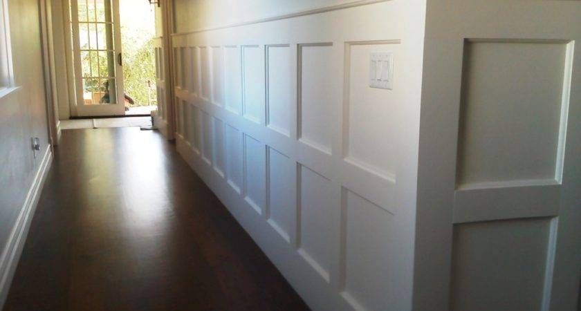 White Modern Wainscoting John Robinson House Decor