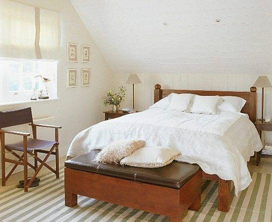 White New England Style Bedroom Furniture