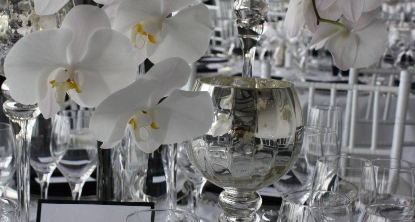 White Phalenopsis Table Centerpieces Petalena Creative