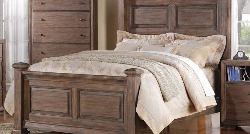 White Rustic Bedroom Furniture Interior Design
