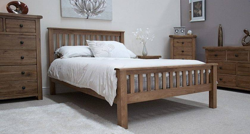 White Rustic Bedroom Furniture Tilson Solid Oak
