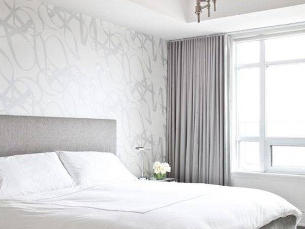 White Silver Bedroom Decorating Ideas