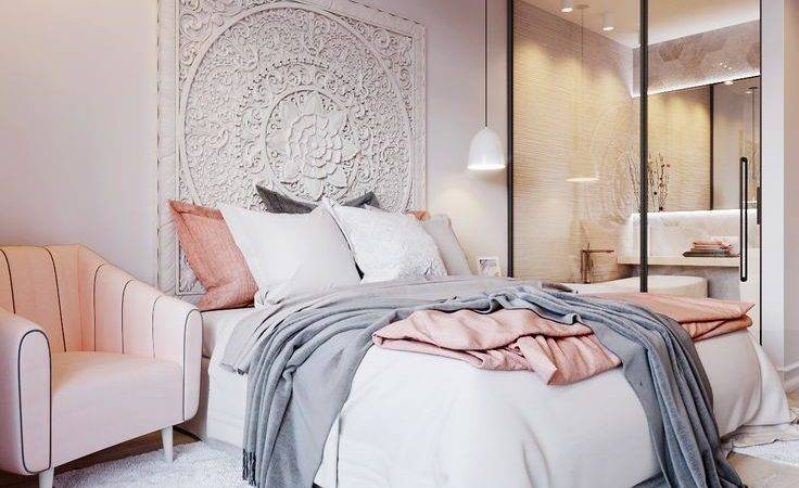 White Silver Bedroom Grey Bedrooms Pinterest