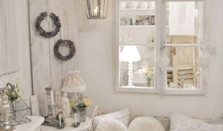 White Wall Color French Country Living Room Decorating
