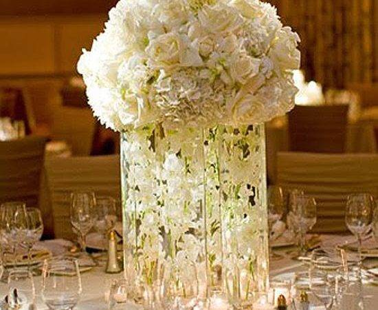 White Wedding Centerpieces Stuff Ideas