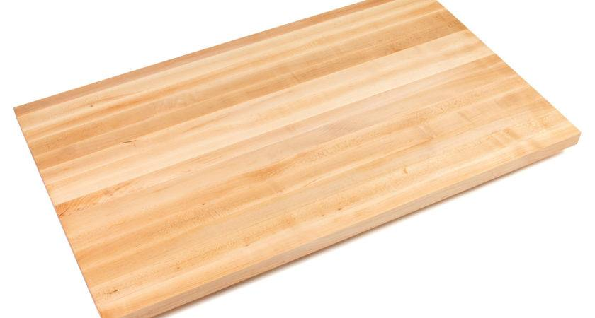 Wide Maple Counter Tops Inches Thick