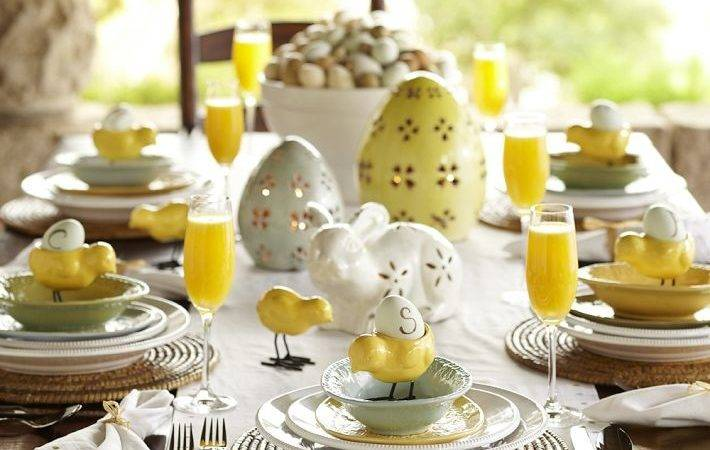 Wielkanocny Easter Table Decorations