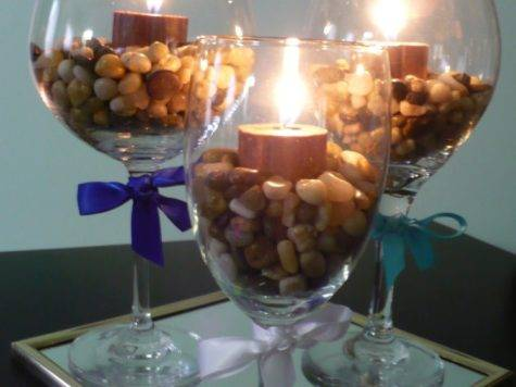 Wine Glass Centerpieces Rooted Love