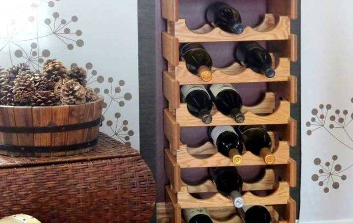 Wine Rack Small Space Ideas Home Design