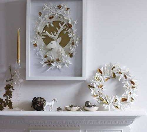 Winter Decorating Ideas Inviting Deer Into Modern Home