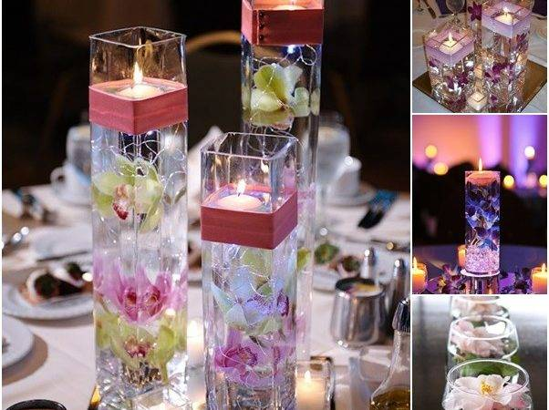 Wodnerful Diy Unique Floating Candle Centerpiece Flower