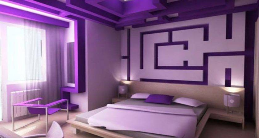 Women Bedroom Designs Purple Turquoise Room