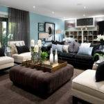 Wonderful Black Leather Sofa Decorating Ideas Living