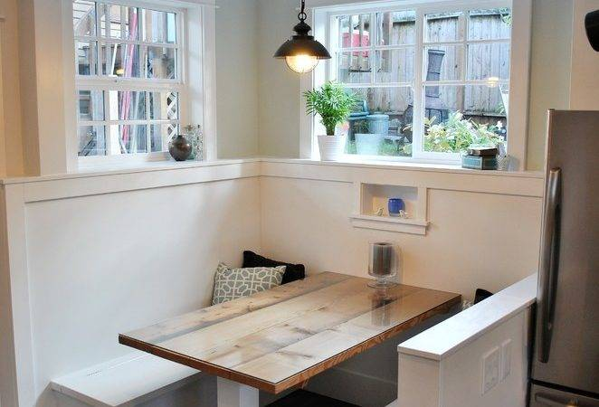 Wonderful Breakfast Nook Table Ikea Decorating Ideas