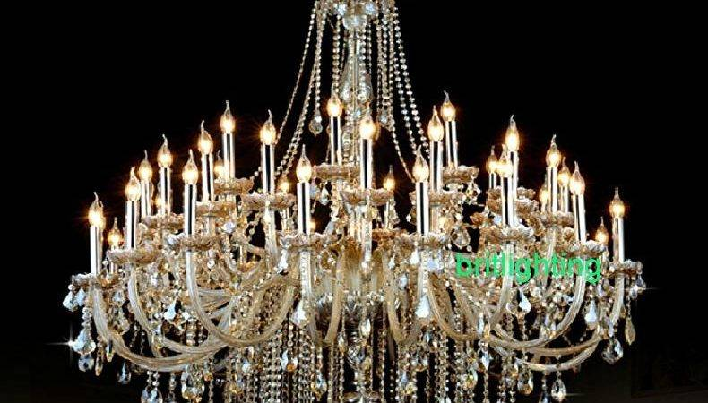 Wonderful Cheap Crystals Chandeliers Extra Large