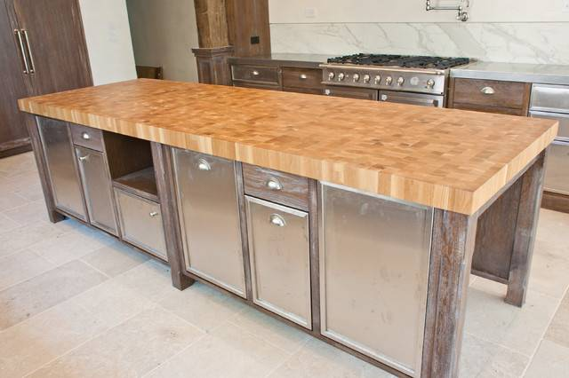 Wood Countertop Modern Kitchen Countertops Other