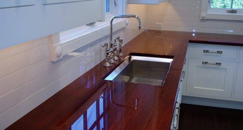 Wood Countertops Brooks Custom