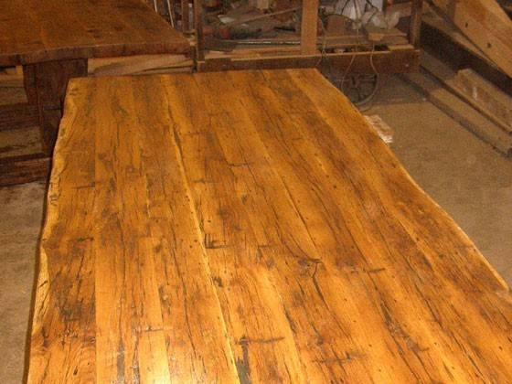 Wood Countertops Hand Hewn White Oak Lots Character