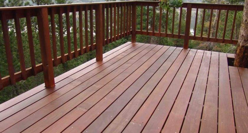 Wood Deck Railing Options Carpenters Networx