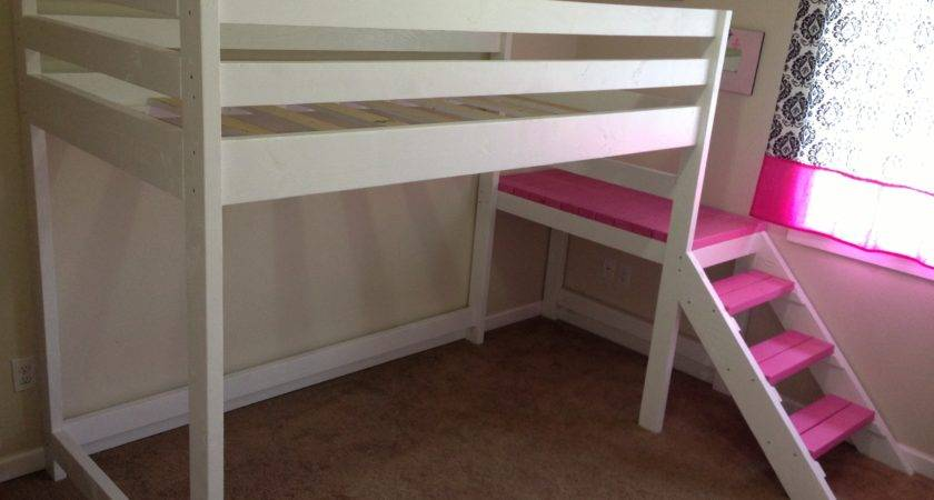 Wood Loft Beds Twin Bed Here