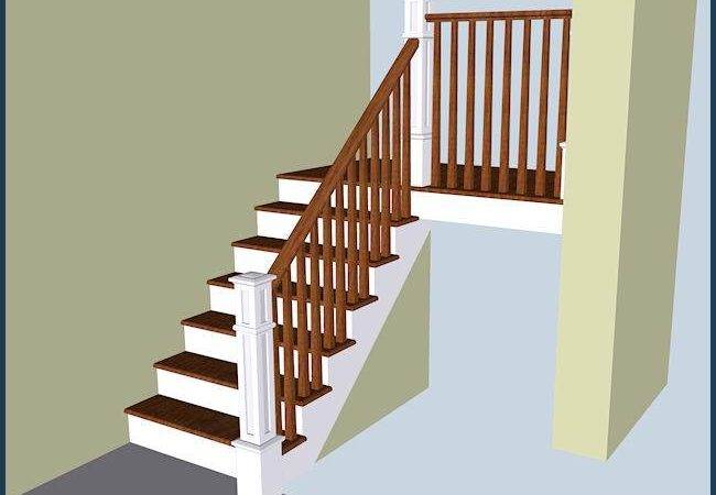 Wood Stairs Railing Design Your House Its Good Idea